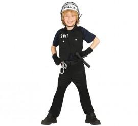 Disfraz Policía SWAT para Niños