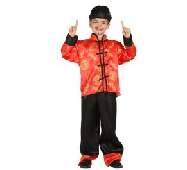 Disfraz de Oriental o Chino para Niños