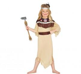 Disfraz de India Cherokee para Niñas