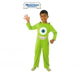 Disfraz Mike de Monstruos University para Niño