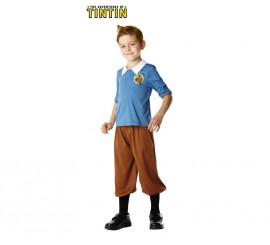 Disfraz de Tintín para niños de 3 a 4 años