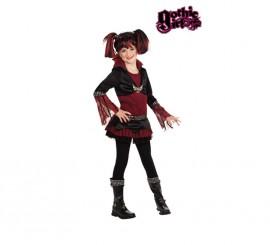 Disfraz de Lilith para niñas 3 a 4 años GOTHIC GIRLS