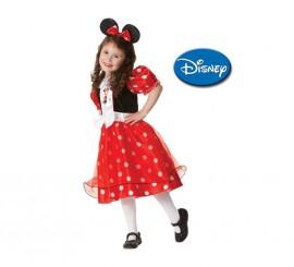 Disfraz de Minnie Mouse Red Spotty niñas