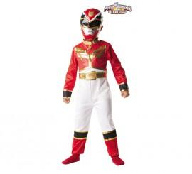 Disfraz de Power Ranger Rojo para Niño. Disponible
