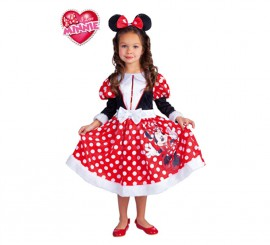 Disfraz de Minnie Mouse Winter para niñas de 5 a 7 años