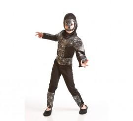 Disfraz Hombre Araña Musculoso negro de niño