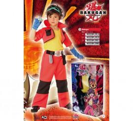 Disfraz de Bakugan lujo niño