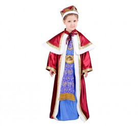 Disfraz de Rey Mago Melchor para niños