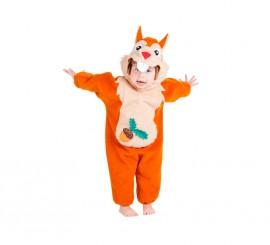 Disfraz de Ardilla para bebés 18 meses