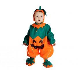 Pelele Calabaza bebés 6-12 meses para Halloween