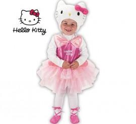 Disfraz de Hello Kitty Bailarina en percha y bolsa