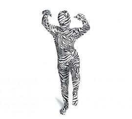 Disfraz MORPHSUIT de Cebra talla L Infantil
