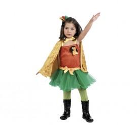 Disfraz Robin Girl para Niña
