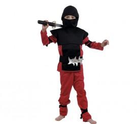 Disfraz de Ninja Rojo para Niño