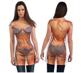 Camisa Bikini Pedreria Deluxe para mujer