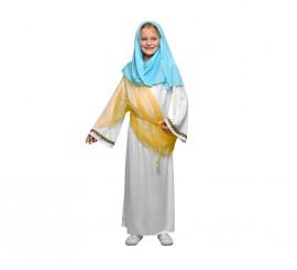Disfraz de la Virgen María para niñas