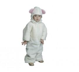 Disfraz de Ovejita Blanca para Bebé para Navidad