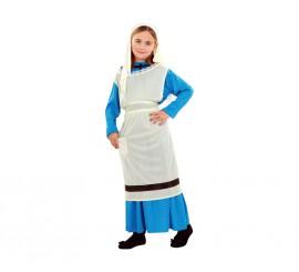 Disfraz de Lavandera para niñas