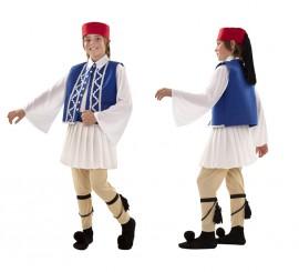 Disfraz de Griego Sirtaki para niños