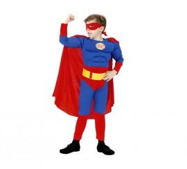 Disfraz de Héroe Musculoso para niño