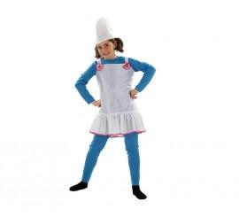 Disfraz de Duende Azul para niñas