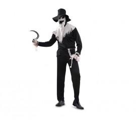 Disfraz de Espantapájaros Maligno para hombre talla M-L