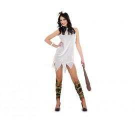 Disfraz de Cavernícola para mujer talla M-L