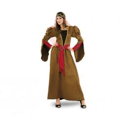 Disfraz de Juliana Medieval para mujeres talla M-L