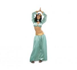 Disfraz de Princesa Árabe para mujer. Talla M-L