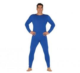 Maillot o Mono color azul para hombre