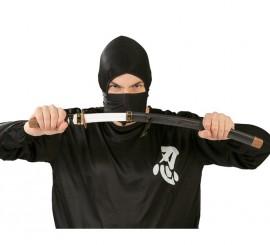 Sable de Japonés Ninja negro con funda 73 cm