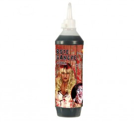Sangre líquida de color oscura de 450 ml
