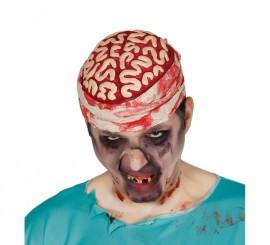 Sombrero o casco de cerebro con venda