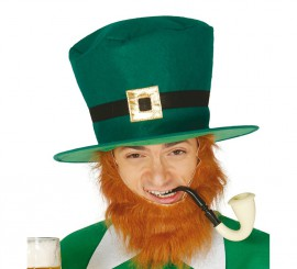 Sombrero o Gorro de San Patricio verde