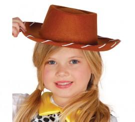 Sombrero vaquero de fieltro para niños