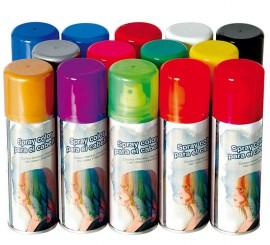 Spray para Cabello Fluorescente 125 ml de colores surtidos