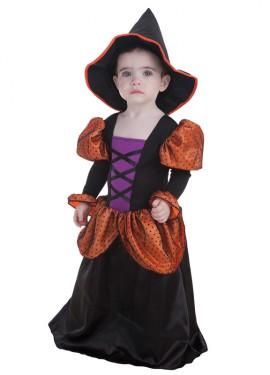Disfraz de Brujita simpática para bebé