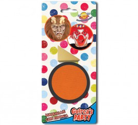 Maquillaje cremoso con Esponja color Naranja