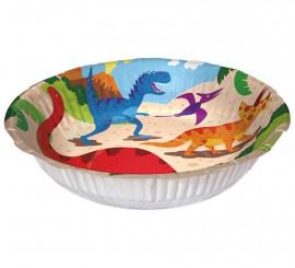 6 Bowls Dinosaurios