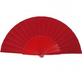 Abanico pericón de 30 cm en color rojo