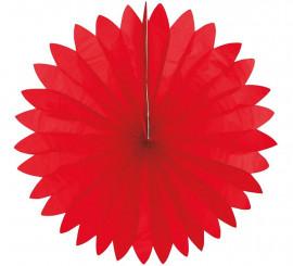 Abanico rojo redondo 74 cm