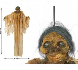 Abuela colgante en descomposición con Luz 108X57 cm