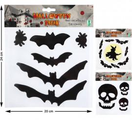 Autocollants en Relief Halloween 24x20cm disponible en 3 modèles