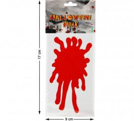 Adhesivos con relieve Mancha Sangrienta 17 cm