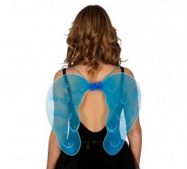 Alas de Ángel azules de 47x41 cm