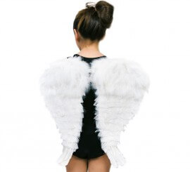 Alas de Ángel con plumas 48 cm