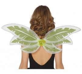 Alas de Hada verde de 78 x 30 cm