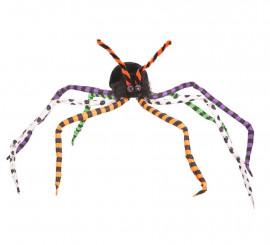 Araña con Patas de colores de 80 cm