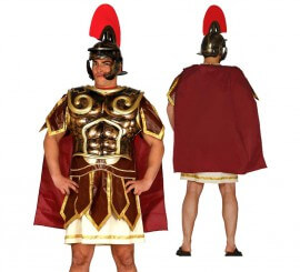 Armadura Espartana con capa