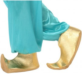 Babuchas Árabes doradas para niños